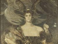 М.А. Врубель. Валькирия. Княгиня М.К. Тенишева, 1899