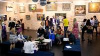 Внутреннее пространство выставки 19 на 73. Бадаевский пивоваренный завод