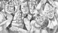 Графика и живопись П.Зальцмана в Третьяковской галерее на Крымском Валу
