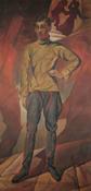 Человек нового времени. Персональная выставка О. Амосовой-Бунак в Центральном Доме художника