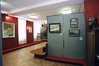 Мемориально-художественный музей В.А.Серова в г. Эммаус. Экспозиционный зал, 1999 г.