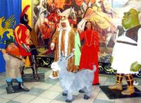 Шоу роботов в Алтайском краеведческом музее
