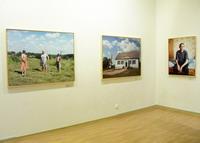 На выставке Анастасии Хорошиловой. 2 марта 2006 года