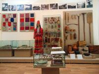Фрагмент выставки Мордва Саратовского края