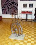 Промзона - территория культуры. Фрагмент экспозиции. Фото А.Лебедева