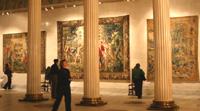 Шпалеры исторические и современные в Музее изобразительных искусств