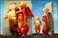 Сущность бытия. Виктор Герасименко в Музее им.А.А.Бахрушина