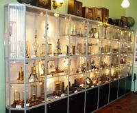 Экспозиция музея, посвящённая истории развития науки