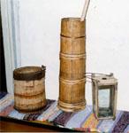 Бадья, маслобойка, фонарь. Конец XIX в.