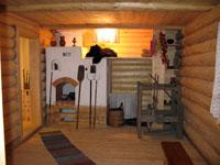 Экспозиции: Крестьянская изба в детском музее