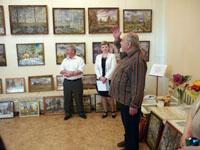 Открытие персональной выставки художника В.Л. Козлова