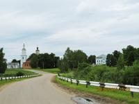 Дорога к музею-заповеднику