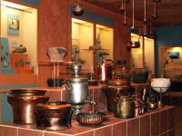 Подиум Медная посуда