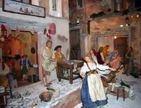 На выставке Вертеп. Рождественская традиция Италии  в Российском этнографическом музее