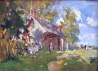 Экспозиции: К.А. Коровин. Летний пейзаж.Охотино. 1921