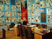 Вид экспозиции, посвященной Великой Отечественной войне и послевоенным годам