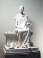 Христианская мученица. Не от мира сего. 1887-1888. Мрамор.