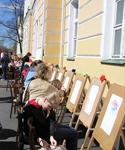 Площадка музея ИЗО на празднике в Петрозаводске