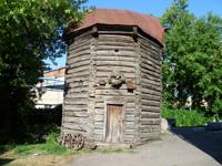 Мельница во дворе музея