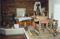 Экспозиция История Тары с 1594 по 1917гг, Интерьер крестьянской избы.