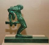 Экспозиции: Эрнст Неизвестный, Солдат, пронзаемый штыком, 1956