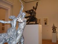 На выставке Веры Мухиной в Русском музее