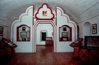 Интетьер зала древнерусской литературы