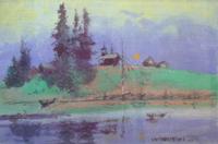 Живопись И. Коваленко в Красноармейской картинной галерее