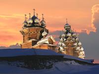 Фотовыставка Кижи над реальностью в Ханты-Мансийске