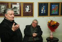 Гости выставки  Льва Горелика. 2009 г.
