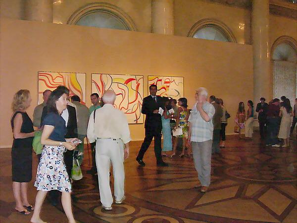 Экспозиции: На открытии выставки Виллема де Кунинга. Эрмитаж, 4 июля 2006 года