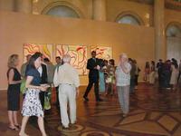 На открытии выставки Виллема де Кунинга. Эрмитаж, 4 июля 2006 года