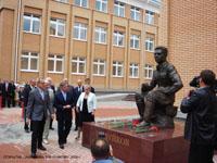 Открытие памятника В.И. Чуйкову