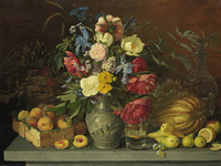 Экспозиции: Цветы и плоды. 1839. Холст, масло.