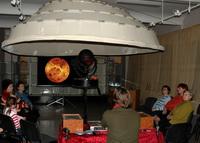 Передвижной планетарий в Ставропольском музее-заповеднике