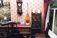 Кабинет К. Мутыги в экспозиции Музхея Г. Тукая