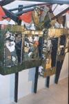 Одна из витрин музея: ВДВ в Афганистане