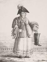 Александров П.А. Торговка старьем. 1823. Литография.