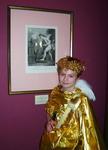 На открытии выставки Воспитание Амура. Эрмитаж 21 марта 2006 года