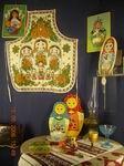 На Руси живут Матрешки - передвижная выставка Свердловского музея