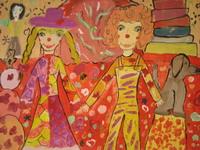 Цирковая семья, Безденежных Аня, 10 лет