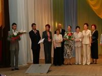 Учреждения  культуры г. Сарапула поздравляют  музей. Фото Е. Караванова