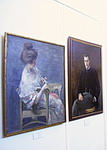 На выставке портрета в Музее истории Санкт-Петербурга. 3 февраля 2006 года