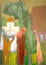 Выставка живописи В.Чудина