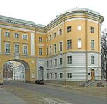 Вид здания Музея-Лицея (г. Пушкин)