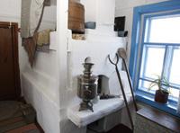 Кухня. Фрагмент экспозиции дома, где прошли детские годы В.М. Шукшина