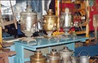 Предметы быта в экспозиции Крестьянская изба