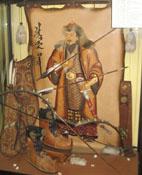Витрина с подарками от Монголии. С любовью к Кузбассу