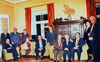 В доме академика И.В. Курчатова в день его 83-летней годовщины со дня рождения