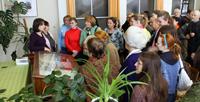 МОНРЕПО. Открытие выставки к 150-летию П. Николаи в ЛОГАВ (2010). Фотография С. Киселева
